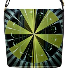 Fractal Ball Flap Messenger Bag (S)
