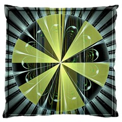 Fractal Ball Large Flano Cushion Case (Two Sides)