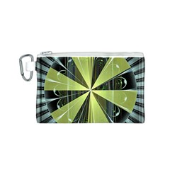 Fractal Ball Canvas Cosmetic Bag (s)