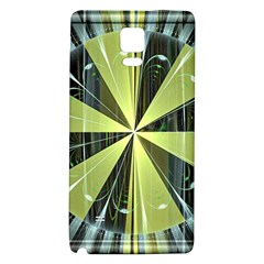 Fractal Ball Galaxy Note 4 Back Case