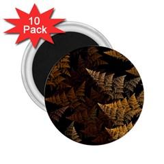 Fractal Fern 2.25  Magnets (10 pack)