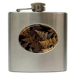 Fractal Fern Hip Flask (6 oz)