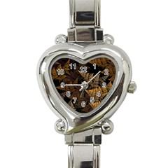 Fractal Fern Heart Italian Charm Watch
