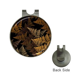 Fractal Fern Hat Clips with Golf Markers