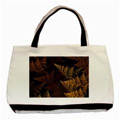 Fractal Fern Basic Tote Bag