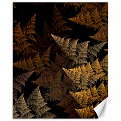 Fractal Fern Canvas 16  X 20