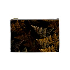 Fractal Fern Cosmetic Bag (medium)