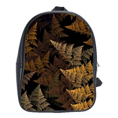 Fractal Fern School Bags(large)