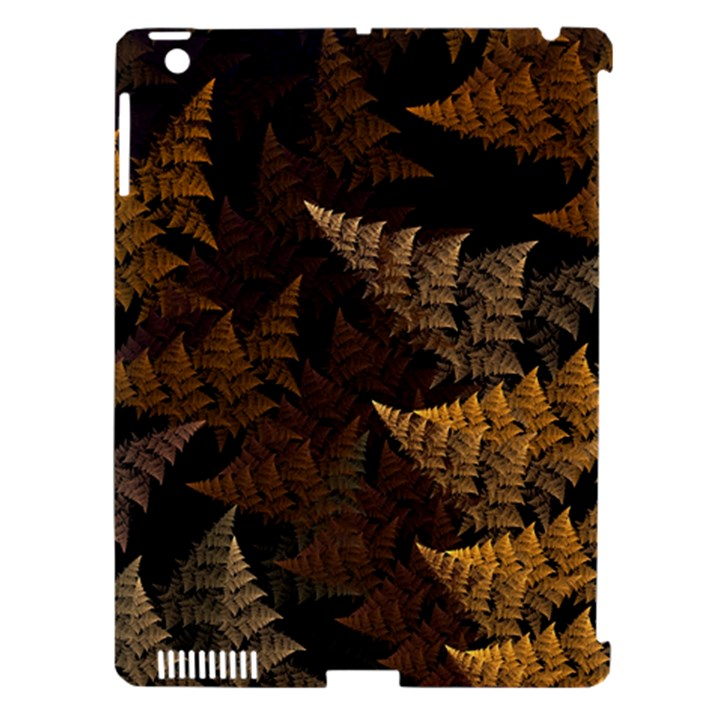 Fractal Fern Apple iPad 3/4 Hardshell Case (Compatible with Smart Cover)