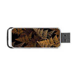 Fractal Fern Portable USB Flash (Two Sides)