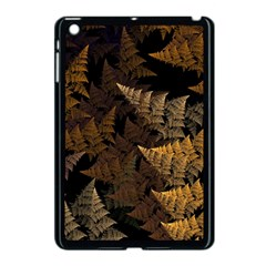 Fractal Fern Apple iPad Mini Case (Black)