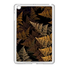 Fractal Fern Apple iPad Mini Case (White)