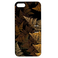 Fractal Fern Apple iPhone 5 Hardshell Case with Stand