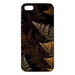 Fractal Fern Apple iPhone 5 Premium Hardshell Case