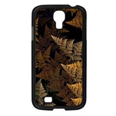 Fractal Fern Samsung Galaxy S4 I9500/ I9505 Case (Black)