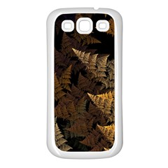 Fractal Fern Samsung Galaxy S3 Back Case (White)