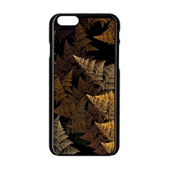 Fractal Fern Apple iPhone 6/6S Black Enamel Case