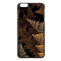 Fractal Fern Apple iPhone 6 Plus/6S Plus Black Enamel Case