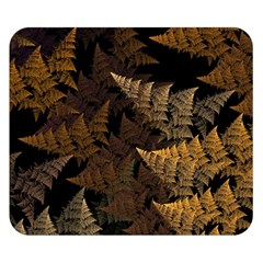 Fractal Fern Double Sided Flano Blanket (small)