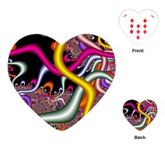 Fractal Roots Playing Cards (Heart)