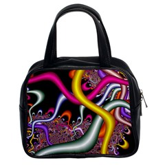 Fractal Roots Classic Handbags (2 Sides)
