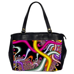 Fractal Roots Office Handbags (2 Sides)