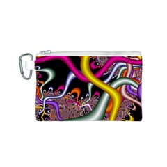 Fractal Roots Canvas Cosmetic Bag (S)