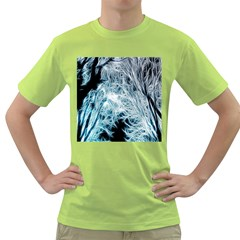 Fractal Forest Green T Shirt
