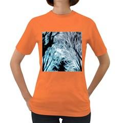 Fractal Forest Women s Dark T Shirt