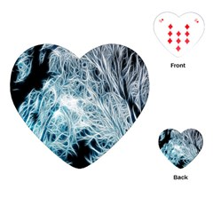 Fractal Forest Playing Cards (heart)