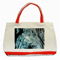 Fractal Forest Classic Tote Bag (Red)