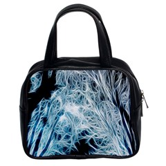 Fractal Forest Classic Handbags (2 Sides)