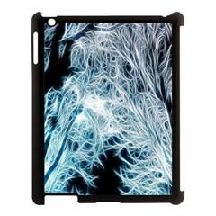 Fractal Forest Apple iPad 3/4 Case (Black)