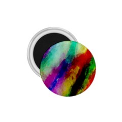 Abstract Colorful Paint Splats 1 75  Magnets