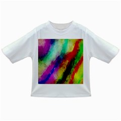 Abstract Colorful Paint Splats Infant/Toddler T-Shirts