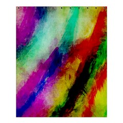 Abstract Colorful Paint Splats Shower Curtain 60  X 72  (medium)