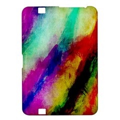 Abstract Colorful Paint Splats Kindle Fire HD 8.9