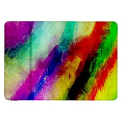Abstract Colorful Paint Splats Samsung Galaxy Tab 8.9  P7300 Flip Case