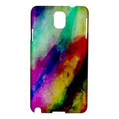 Abstract Colorful Paint Splats Samsung Galaxy Note 3 N9005 Hardshell Case
