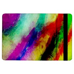 Abstract Colorful Paint Splats iPad Air Flip