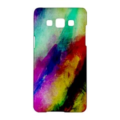 Abstract Colorful Paint Splats Samsung Galaxy A5 Hardshell Case