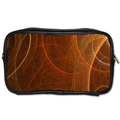 Fractal Color Lines Toiletries Bags 2-Side