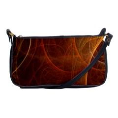 Fractal Color Lines Shoulder Clutch Bags