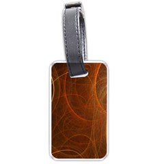 Fractal Color Lines Luggage Tags (One Side)