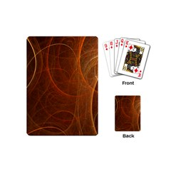 Fractal Color Lines Playing Cards (mini)