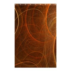 Fractal Color Lines Shower Curtain 48  X 72  (small)