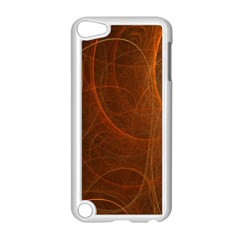 Fractal Color Lines Apple iPod Touch 5 Case (White)