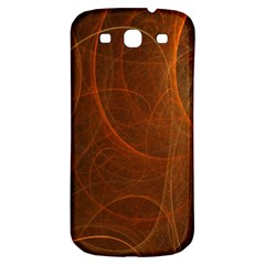 Fractal Color Lines Samsung Galaxy S3 S Iii Classic Hardshell Back Case