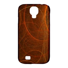 Fractal Color Lines Samsung Galaxy S4 Classic Hardshell Case (PC+Silicone)