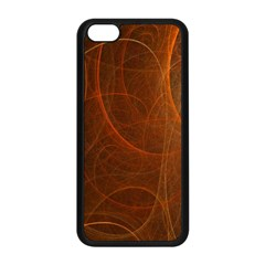 Fractal Color Lines Apple iPhone 5C Seamless Case (Black)